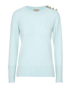 Burberry | Кашемировый Пуловер Прямого Кроя С Декоративной Отделкой