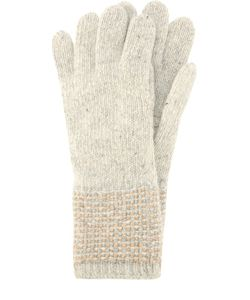 Johnstons Of Elgin | Перчатки Из Кашемира Фактурной Вязки