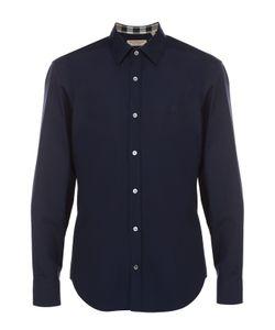 Burberry | Хлопковая Рубашка С Воротником Кент