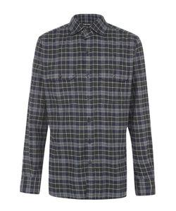 Tom Ford   Хлопковая Рубашка В Клетку