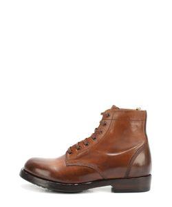 Officine Creative | Кожаные Ботинки С Круглым Мысом