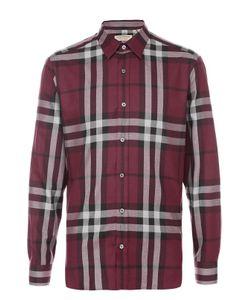 Burberry | Рубашка Из Смеси Хлопка И Кашемира В Клетку