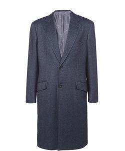 Brioni | Однобортное Пальто Из Смеси Кашемира И Шелка