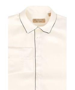 Burberry | Шелковая Сорочка Свободного Кроя