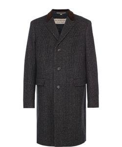 Burberry | Шерстяное Однобортное Пальто