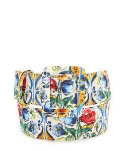 Dolce & Gabbana | Ремень С Принтом