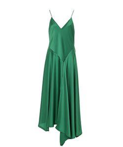 DKNY | Приталенное Платье На Бретельках Асимметричного Кроя