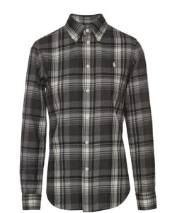 Polo Ralph Lauren | Блуза Прямого Кроя В Клетку С Вышитым Логотипом Бренда Polo Ralph