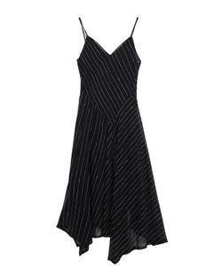 DKNY | Приталенное Платье На Бретельках С V-Образным Вырезом