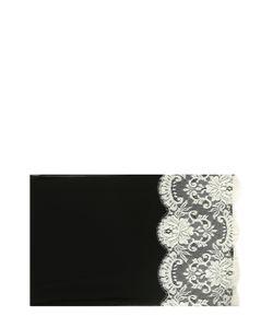 Dolce & Gabbana | Шелковый Платок С Кружевом