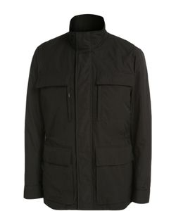 BOSS | Удлиненная Куртка С Воротником-Стойкой