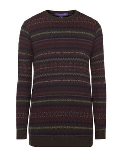 Ralph Lauren | Кашемировый Пуловер С Круглым Вырезом И Принтом