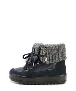 Jog Dog | Комбинированные Ботинки С Отворотами Из Шерсти