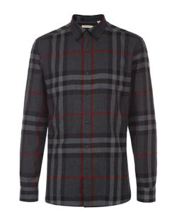 Burberry | Хлопковая Рубашка С Воротником Button Down