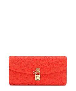 Dolce & Gabbana | Клатч Dolce С Отделкой Кружевом