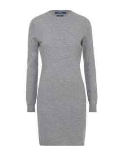 Polo Ralph Lauren | Кашемировое Платье С Круглым Вырезом И Длинным Рукавом