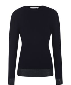 Victoria Beckham | Кашемировый Пуловер С Круглым Вырезом
