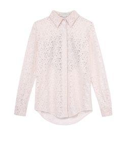 Stella Mccartney | Кружевная Блуза Прямого Кроя С Отделкой На Спинке