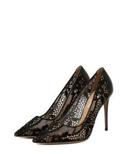 Valentino | Туфли Fusion Lace С Кружевом На Щиколотке