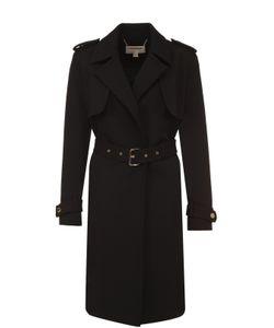 Michael Michael Kors | Пальто Прямого Кроя С Погонами И Поясом