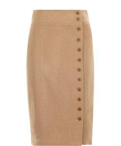 Polo Ralph Lauren | Шерстяная Юбка-Карандаш С Декоративной Отделкой