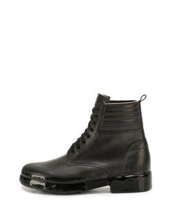 OXS RUBBER SOUL | Высокие Кожаные Ботинки На Шнуровке