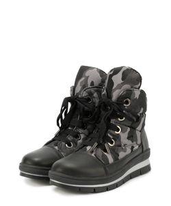 Jog Dog | Текстильные Ботинки С Принтом