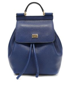 Dolce & Gabbana | Кожаный Рюкзак Sicily Backpack Small