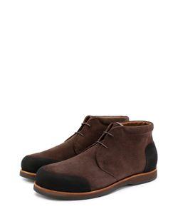 Zonkey Boot | Замшевые Ботинки С Внутренней Меховой Отделкой