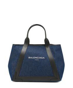 Balenciaga | Сумка Navy Cabas M Из Денима