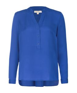 Michael Michael Kors | Шелковая Блуза Прямого Кроя С V-Образным Вырезом