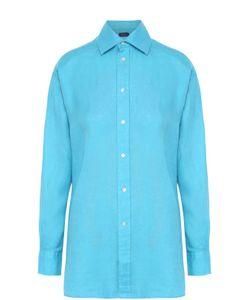 Polo Ralph Lauren | Льняная Удлиненная Блуза Прямого Кроя