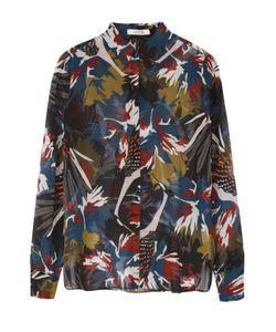 Dorothee Schumacher | Шелковая Блуза Прямого Кроя С Контрастным Принтом