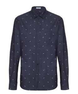 Bikkembergs | Джинсовая Рубашка С Принтом Dirk