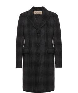 Burberry | Однобортное Пальто Из Смеси Шерсти И Кашемира