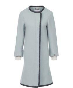 Chloe | Пальто Прямого Кроя С Укороченным Рукавом И Манжетами Chloé