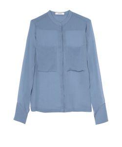 Dorothee Schumacher | Шелковая Блуза Прямого Кроя С Накладными Карманами