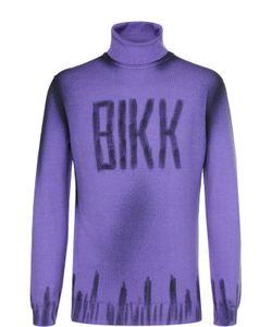 Bikkembergs | Шерстяная Водолазка С Контрастной Отделкой Dirk