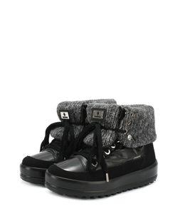 Jog Dog | Комбинированные Ботинки На Шнуровке
