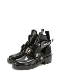 Balenciaga | Кожаные Ботинки С Ремешками