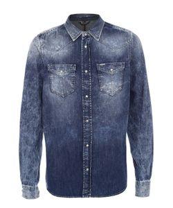 Diesel | Джинсовая Рубашка На Кнопках