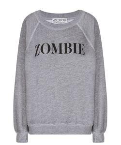 Wildfox | Пуловер Свободного Кроя С Контрастной Надписью