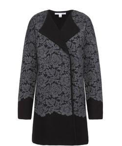 Diane Von Furstenberg | Пальто Прямого Кроя С Кружевной Отделкой И Спущенным Рукавом Diane Von