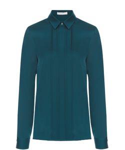 Hugo | Шелковая Блуза Прямого Кроя С Планкой