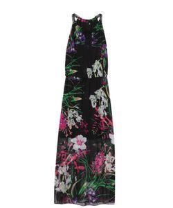 Elie Tahari | Приталенное Шелковое Платье-Макси С Цветочным Принтом