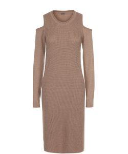 Elie Tahari | Платье Фактурной Вязки С Открытыми Плечами