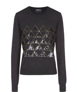 Markus Lupfer | Пуловер Прямого Кроя С Контрастной Вышивкой