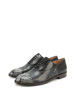 Marc Jacobs | Кожаные Ботинки С Тиснением