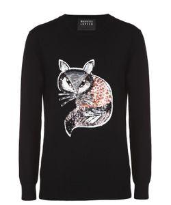 Markus Lupfer | Удлиненный Пуловер С Контрастной Вышивкой Пайетками