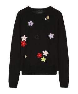 Simone Rocha | Пуловер С Круглым Вырезом И Цветочной Вышивкой